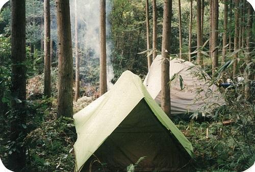 テント生活